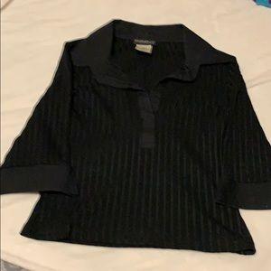 Bebe textured shirt